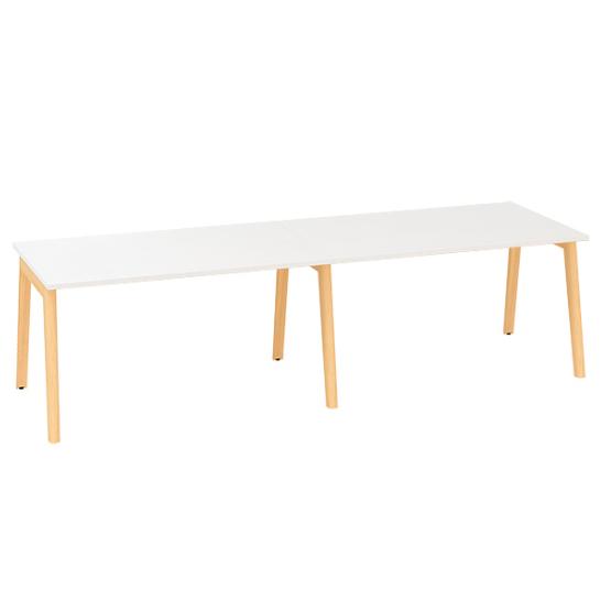 Konferenční stůl ROOT, 2800x1000mm, bílá