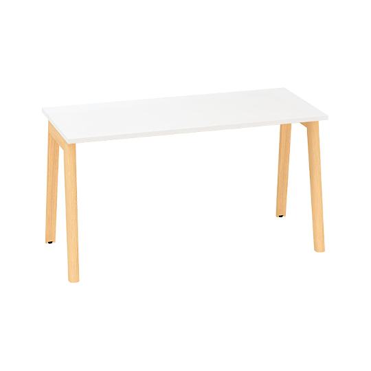 Kancelářský stůl ROOT, 1400x800mm, bílá