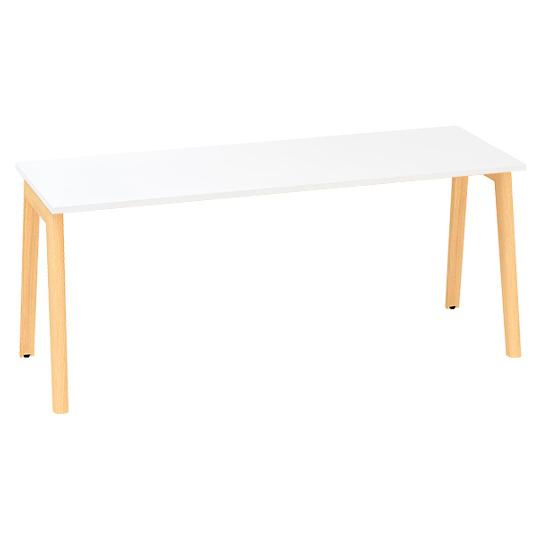 Kancelářský stůl ROOT, 1800x800mm, bílá