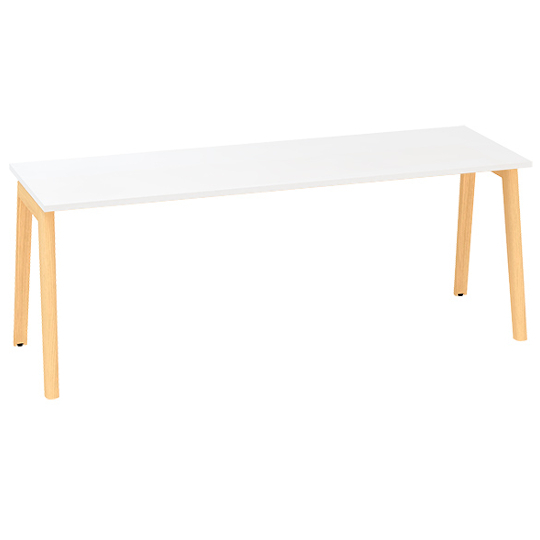 Kancelářský stůl ROOT, 2000x800mm, bílá