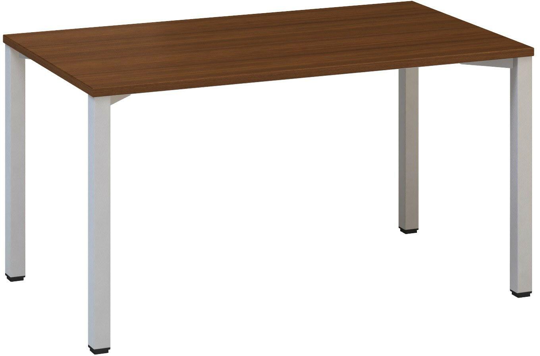 Kancelářský pracovní stůl FA 200, 1400 x 800 mm, ořech