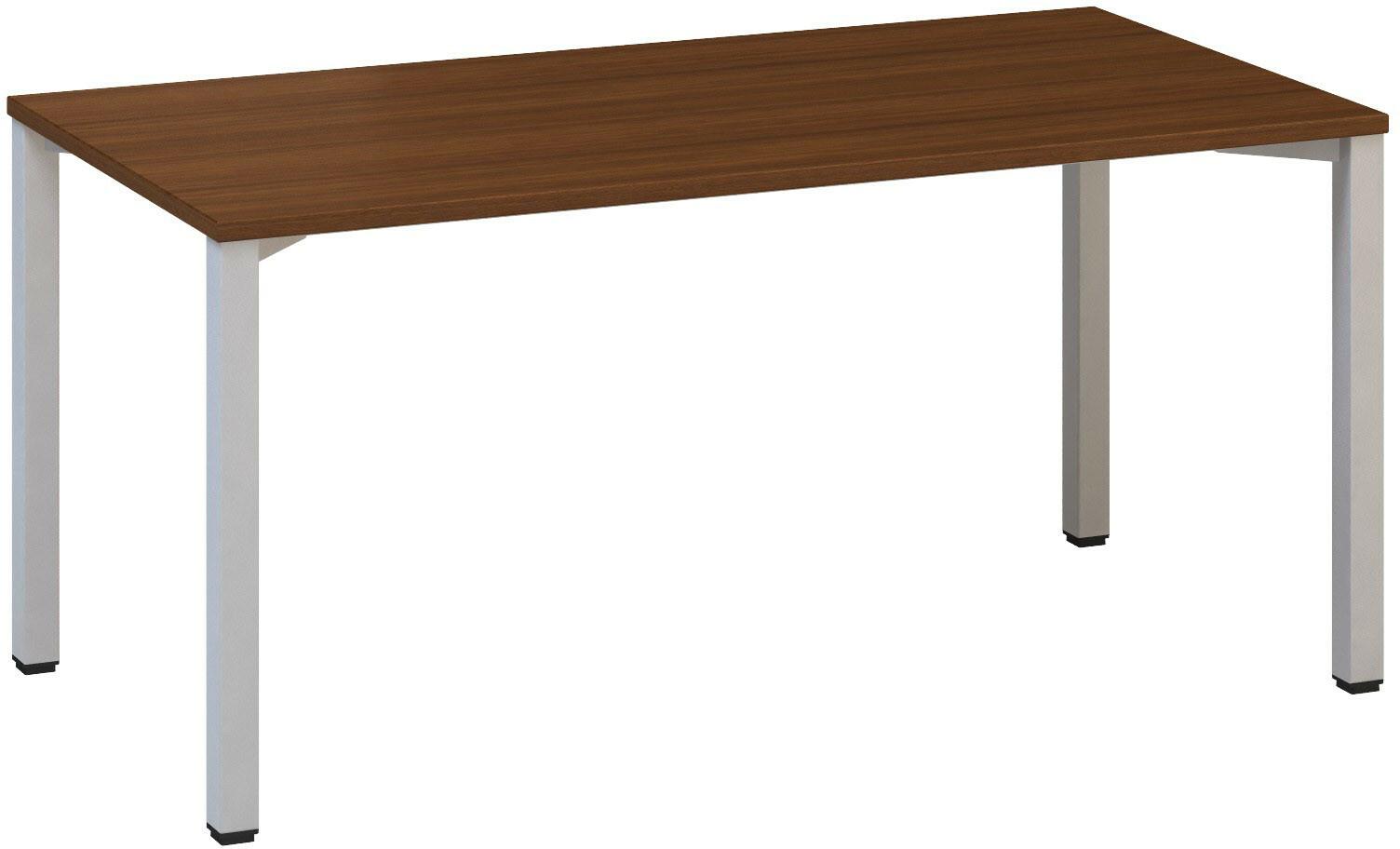Kancelářský pracovní stůl FA 200, 1600x800mm, ořech
