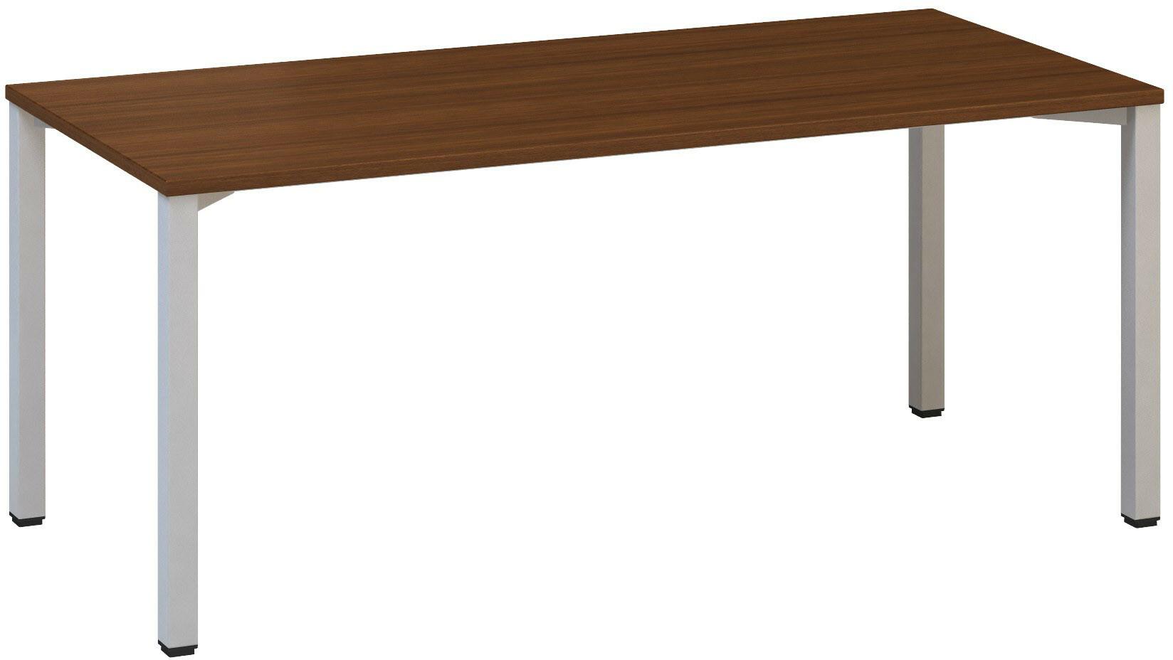 Kancelářský pracovní stůl FA 200, 1800x800mm, ořech