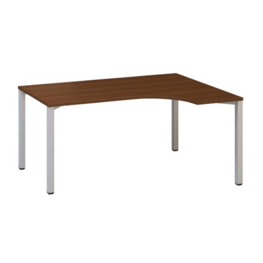 Kancelářský stůl FA 200, pravý, rohový 1200x1800/800mm, ořech