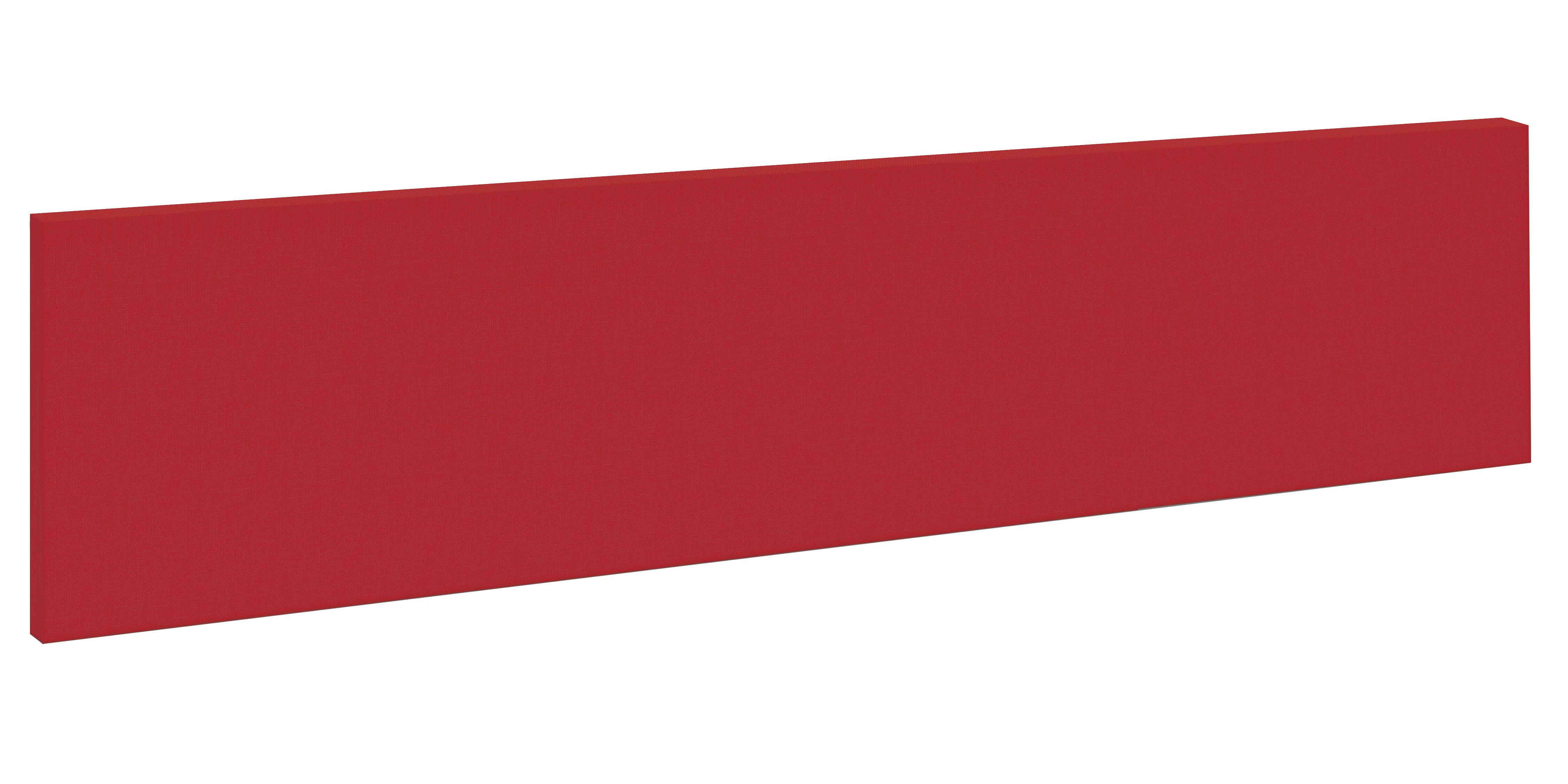 Paraván čalouněný stolní 1400x300mm bezrámový