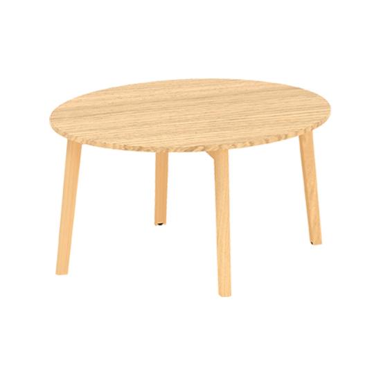 Konferenční stůl ROOT, kruhová deska průměr 900mm, dub