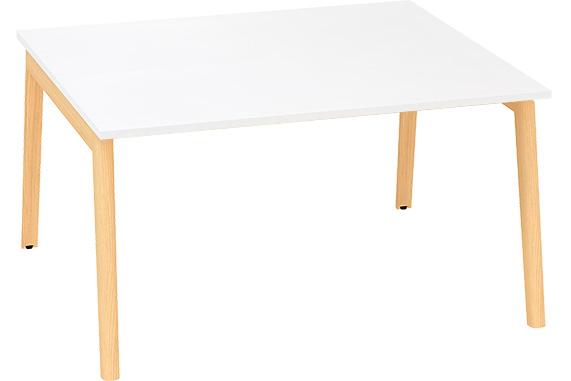 Kancelářský stůl ROOT, dvojpracoviště 1400x1600mm, bílá