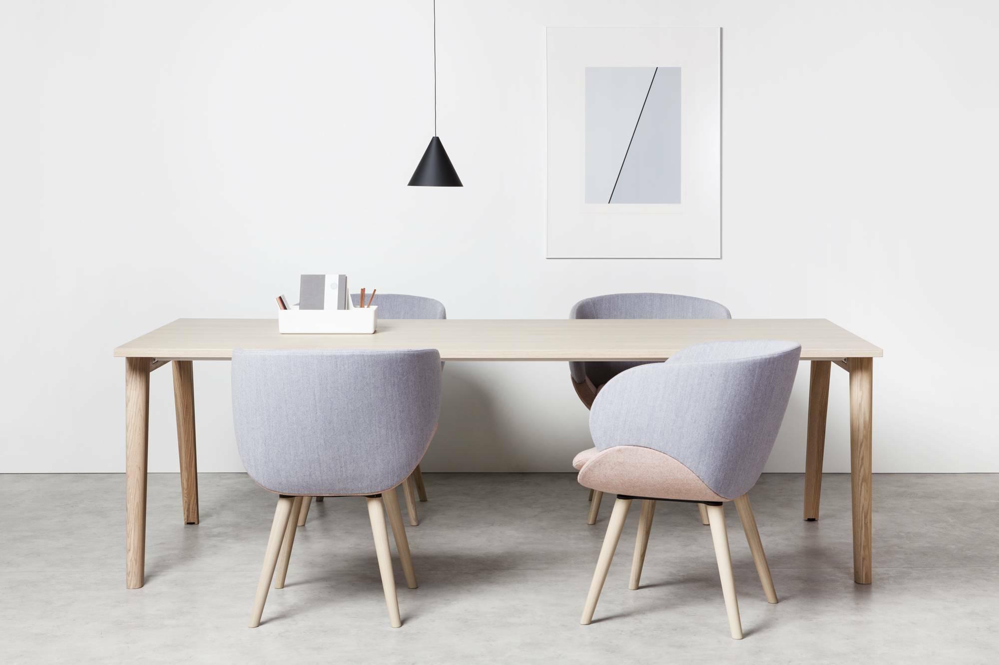 Konferenční stůl ROOT, 2400x1000mm, dub