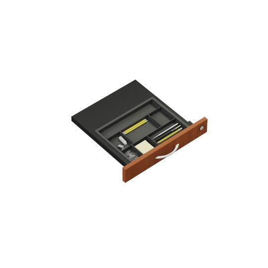 Mobilní kontejner 443x600x600mm, zásuvky 1.3.3.3, boční úchyt