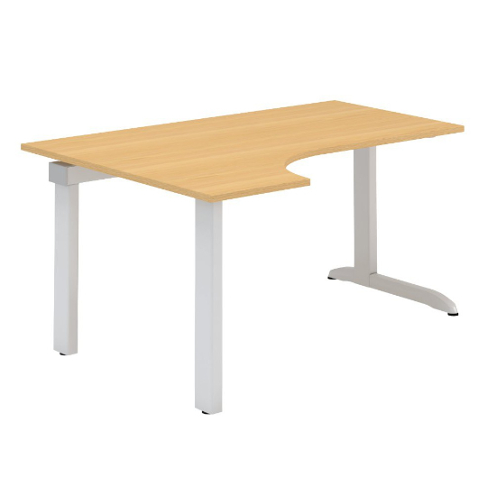 Kancelářský stůl FA300, levý, rohový 1600/450x1200/800mm
