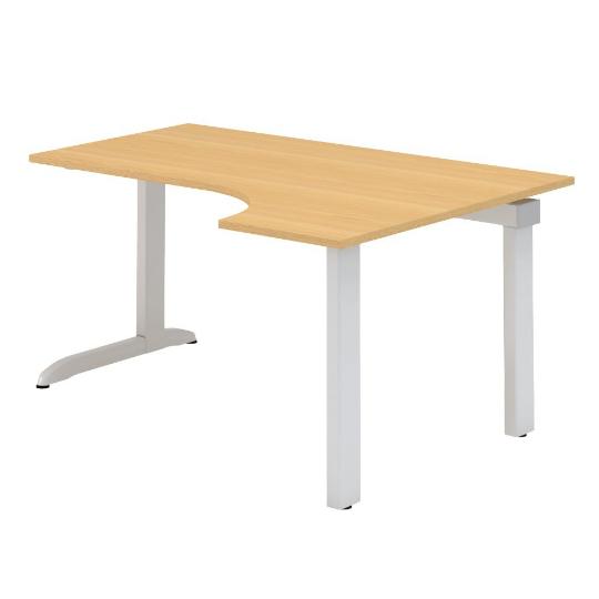 Kancelářský stůl FA300, pravý, rohový 1600/450x1200/800mm