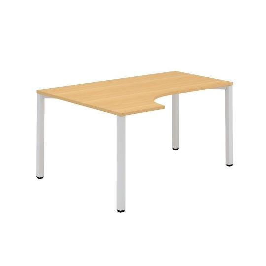 Kancelářský stůl FA 200, levý, rohový 1600/450x1200/800mm
