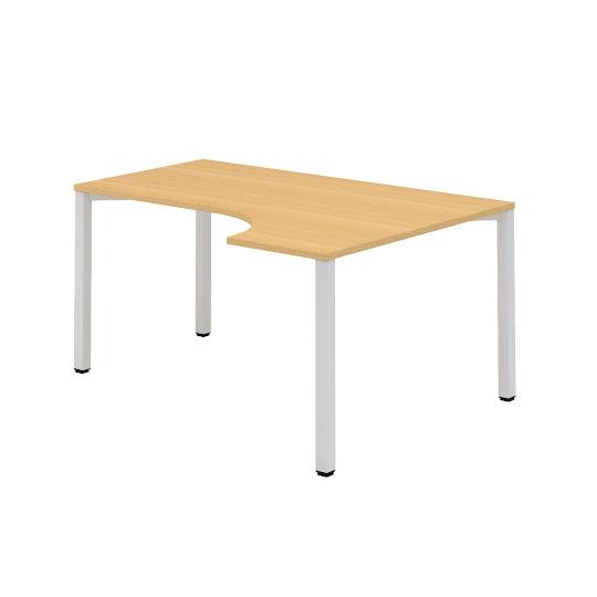 Kancelářský stůl FA 200, pravý, rohový 1600/450x1200/800mmm