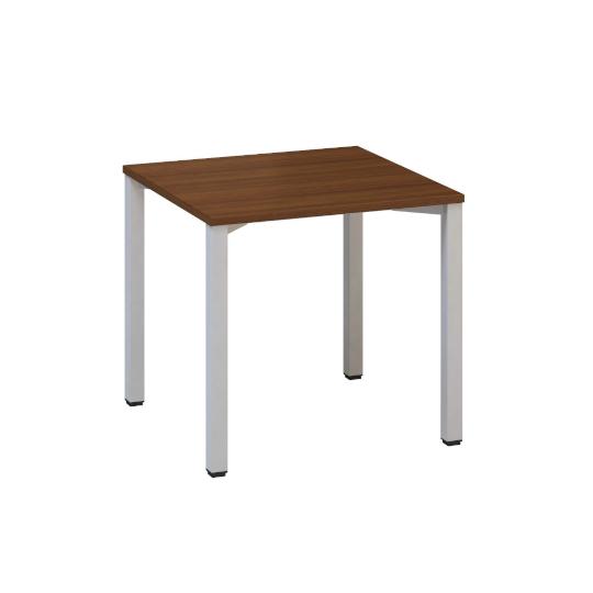 Kancelářský pracovní stůl FA 200, 800 x 800 mm, ořech
