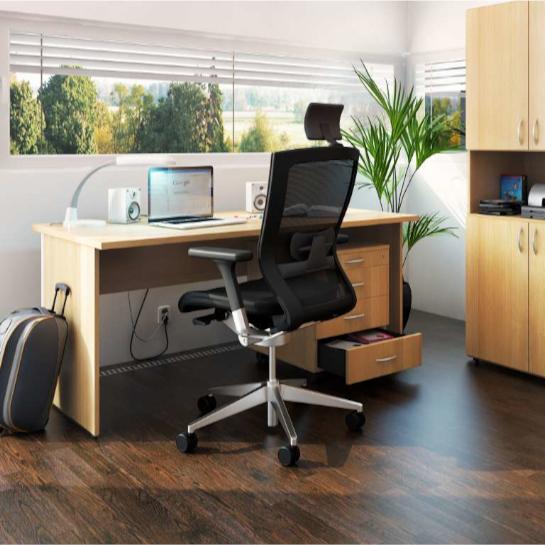 Kancelářský stůl FA100, pravý, rohový1800/450x1200/800mm