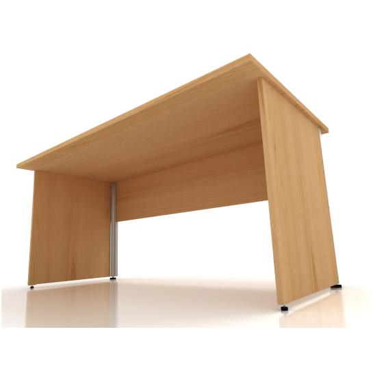 Kancelářský stůl FA100, pravý, rohový1600/450x1200/800mm