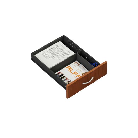 Mobilní kontejner 443x600x600mm, zásuvky 1.3.3.3