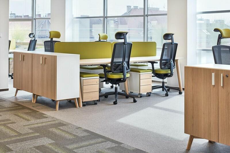 Kancelářský stůl ROOT, 1200x800mm, bílá