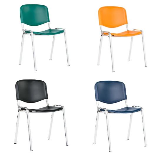 Plastová jednací židle TAURUS PC