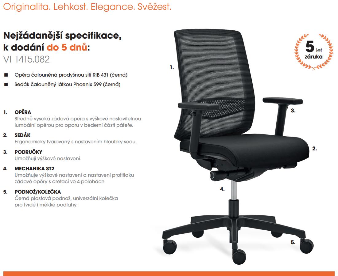 Kancelářská židle VICTORY S
