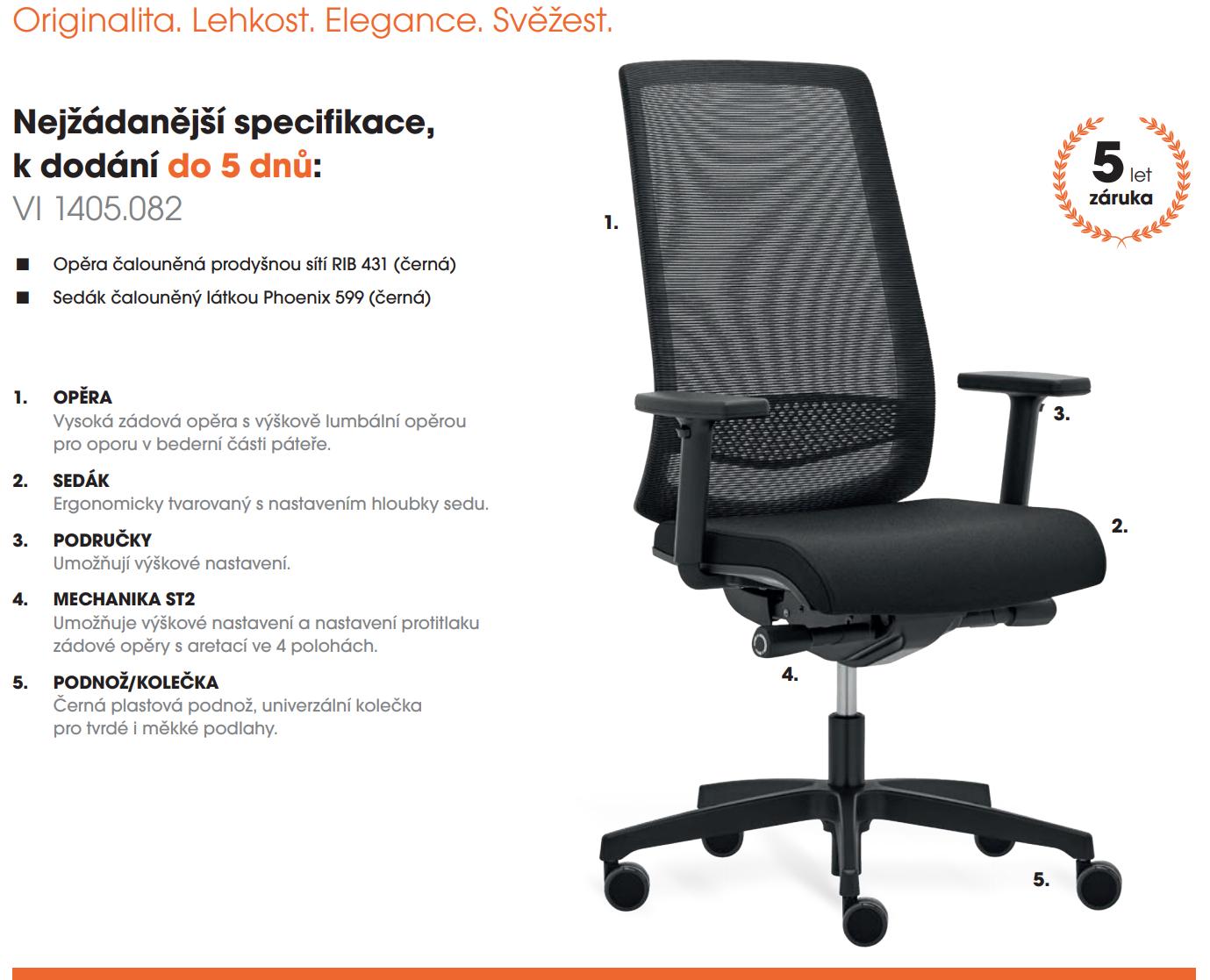 Kancelářská židle VICTORY V