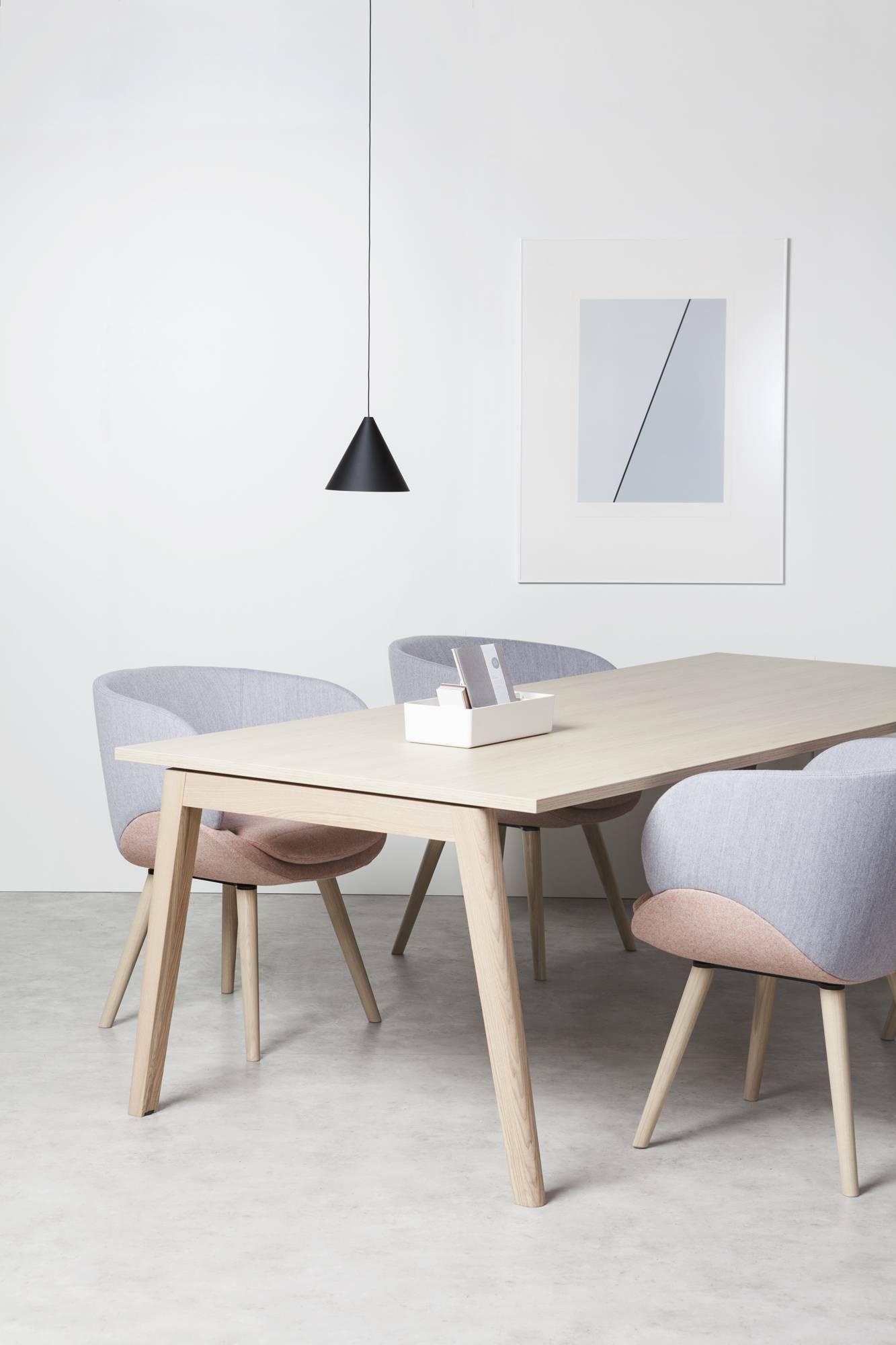 Konferenční stůl ROOT, 2800x1000mm, dub